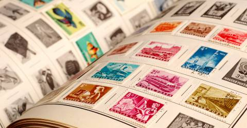 Verzameling postzegels