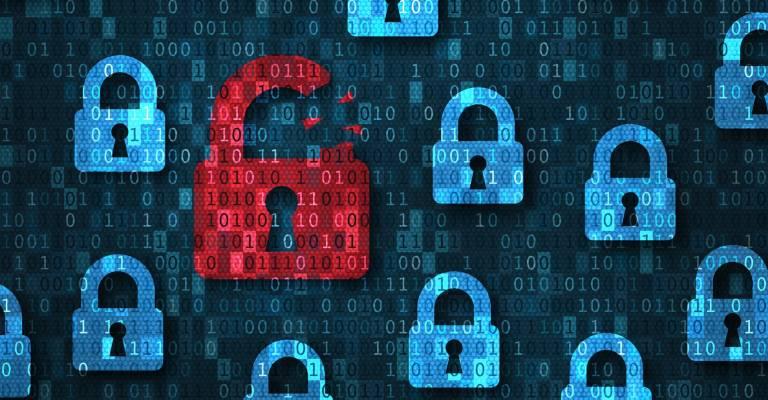 cyberrisico, slotjes, corona, cybercriminelen, thuis werken